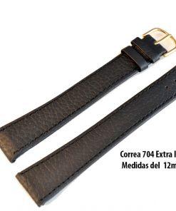 Correa 704NE en color negro EXTRA LARGA